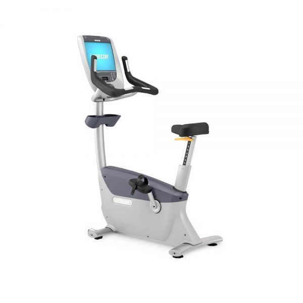 Precor UBK885 Upright Bike with P80 Console