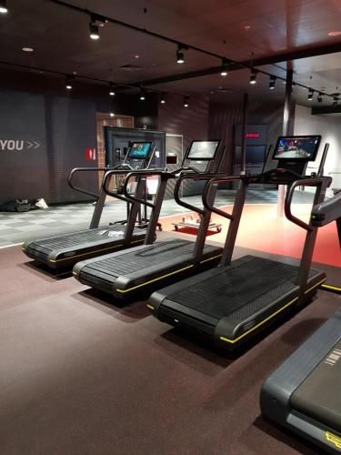 Fitness First - Bond St, Sydney.  Installation by Gym Services Australia.